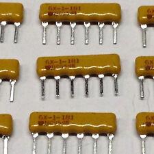 10 Stück Widerstandnetzwerke (Resistor-Network) 180 OHM 6 PIN 2%  (M7010)