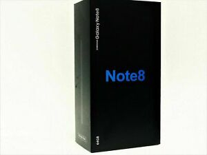 NEW UNLOCKED Samsung Galaxy Note 8 SM-N950U 64GB BLACK N950U T-MOBILE AT&T