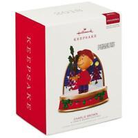 2018 Hallmark A CHARLIE BROWN CHRISTMAS Peanuts Storyteller Ornament