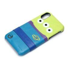 Disney iPhone X Hard Case with Pocket Alien PG-DCS287LGM  New Japan new .