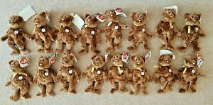 2002 World Cup Bears Ty Beanie Baby Champion Bear FIFA with tag 16 to chose BNWT