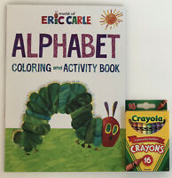 Eric Carle The Very Hungry Caterpillar Alphabet Coloring & Activity Book Crayons