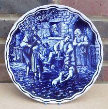 Vintage BOCH Delft Charger Plate