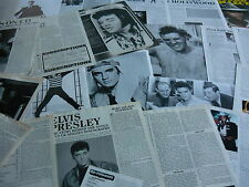 ELVIS PRESLEY - MAGAZINE CUTTINGS COLLECTION (REF Z16)