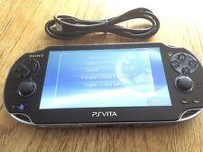 SONY PS VITA CONSOLE WIFI ONLY PCH-1004 PLAYSTATION PSVITA OLED WI-FI GOOD 1.80