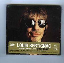 SACD DSD LOUIS BERTIGNAC+DVD (NEUF)LONGTEMPS ( EDITION DELUXE)