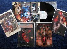 ALICE COOPER The Last Temptation (1994) Vinyl, LP w/ 4 Comic Books EPC 476594-1