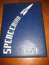 1954 Spencerian yearbook Platt R Spencer School Geneva Ohio original