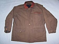 STRUCTURE Mens Thin Full Zip Canvas Jacket Size L