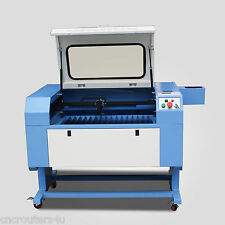 60W CO2 Laser Cutting Engraving Machine Laser Cutter 500mm*700mm with USB