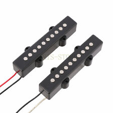 2PCS Neck & Bridge Bass Pickups for 5 string 'JB' Guitars Jazz Bass