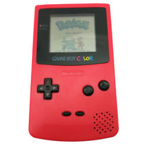 Red Refurbished Nintendo Game Boy Color GBC Console + Game Card