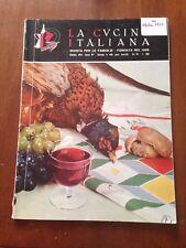 R9> La cucina italiana ottobre 1957