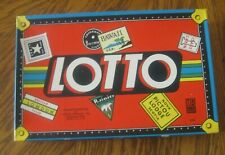 Vintage Antique 1939 LOTTO GAME Milton Bradley NIB