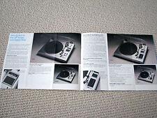 BIC turntable/cassette/speaker/antenna brochure, #2