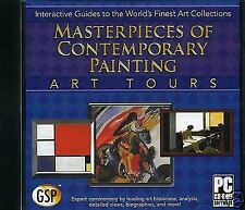 MASTERPIECES OF CONTEMPORARY PAINTING  -  INTERACTIVE ART TOURS. FREE SHIPPING
