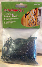 "HANGING BASKET CHAIN - 14"" 35cm 18.7"" 48cm 21.5"" 55cm  EAST TO FIT 4 & 3 STRAND"