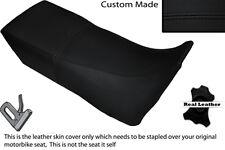 BLACK STITCH CUSTOM FITS YAMAHA XTZ 750 SUPER TENERE 89-96 DUAL SEAT COVER