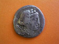 Roman Republican Silver Denarius - Cassia Family 78BC - UK Found
