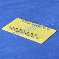 1pc 16 Lug Fiberglass Turret Tag Board for Tube Amp Audio HIFI Classic