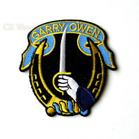 US ARMY GARRY OWEN 7TH REGIMENT CAVALRY US ARMY EMBROIDERED PATCH 2.85 inches