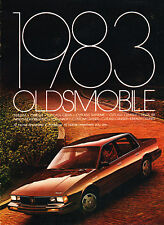 1983 Oldsmobile Cutlass Supreme Sales Brochure Delta 88