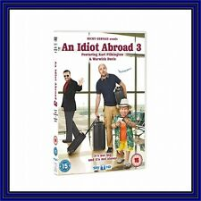AN IDIOT ABROAD - COMPLETE SERIES 3 **BRAND NEW DVD***