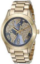 Michael Kors Women's MK6243 'Layton' Crystal Globe Stainless steel Watch