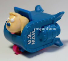 LOOSE Carl's Jr. 1999 Spy Dogs SCRIBBLE'S MOTORIN' MAIL BOX Scribble Mailbox Toy