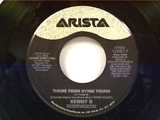 """KENNY G """"THEME FROM DYING YOUNG / I'LL NEVER LEAVE YOU (LOVE THEME)"""" 45 MINT"""