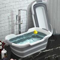 Portable Baby Bathtub Newborn Shower Bath Tub Silicone Folding Cat Dog Bath Tubs