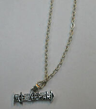 DEF LEPPARD VINTAGE NECKLACE PENDANT NEW FROM LATE 80'S HEAVY METAL wow