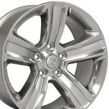 "20"" Wheels For Dodge Ram 1500 Dakota Durango Laramie 20x9 Polished (Rims Set 4)"