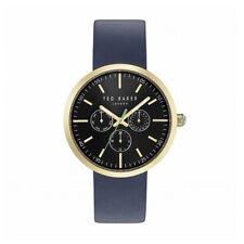 Ted Baker 10031501 Herren Uhr mit Blau Leder Armband