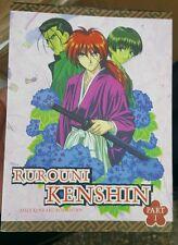 Rurouni Kenshin Meiji Kenkaku Romantan Part 1 COMPLETE 6-DVD Set