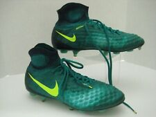 Nike Magista Football Soccer Cleats, Men's Size 8, Green Blue, Euc need spikes