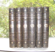 Napoleon Bonparte Memoirs of Madame Junot De Luxe 1893 Grolier 253/1000 Ed 6Vols