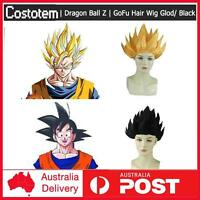 Cosplay Costume Dragon Ball Z Goku Japan Anime Hair Wig Gold / Black