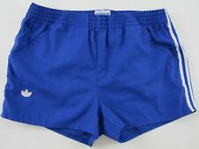 9d7c16a8625ec Adidas Ventex vintage 1980s blue tennis squash high cut nylon shorts Hose  32 D46