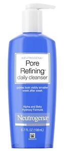 NEUTROGENA Pore Refining Daily Cleanser (6.7 oz.) - Brand New