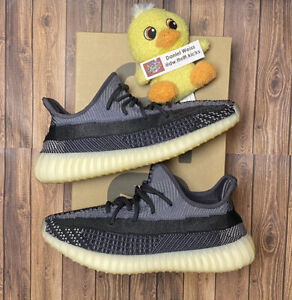 Adidas Yeezy Boost 350 Carbon - Mens Size 10.5