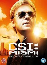 CSI Miami: The Complete Series 1 - 10 DVD Box Set New Sealed