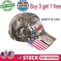 Trump 2020 MAGA Camo Embroidered Hat Keep Make America Great Again Cap A+++ an