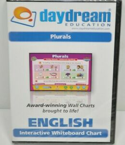 NEW Daydream Education Interactive Whiteboard Software: English - Plurals
