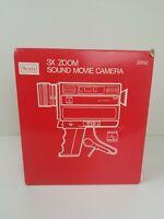 Vintage Sears Sound Movie Camera 3x Zoom Original Box Good Condition Video