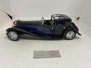 Franklin Mint 1:24 1930 Bugatti Royale Coupe Napoleon Blue/black