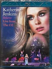 Katherine Jenkins - Believe: Live From The O2 Blu Ray New Region B Free Post