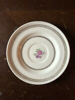 Candlelight American Limoges Saucer For Tea Cup 22k Gold