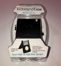I-TEC LEATHER KICKSTAND CASE FACTORY SEALED FOR Apple iPod 30GB 60GB 80GB 120GB