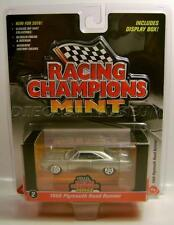 1968 '68 PLYMOUTH ROAD RUNNER SILVER RACING CHAMPIONS MINT RC DIECAST 2016